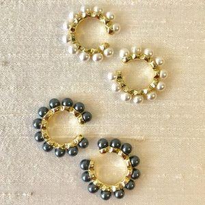 ANTHRO / Baublebar  Clasina Pearl Cuffs